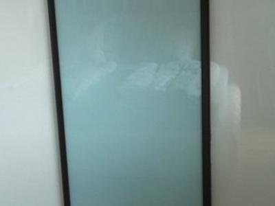 Posuvné dvere lakobelové sklo 5