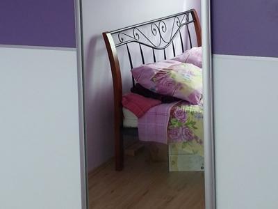 Posuvné dvere zrkadlo 2